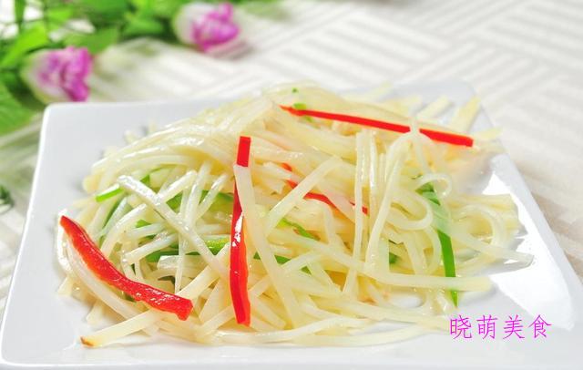 青椒土豆丝、青椒炒腊肠、白灼芥兰、韭菜炒鸡蛋的美味做法