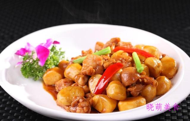 酸辣鱼、香辣牛蛙、香辣鱿鱼、板栗蒸鸡的家常做法,酸爽美味