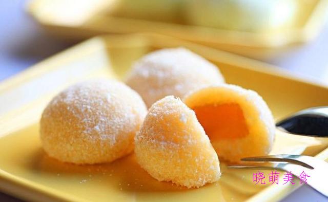 雪花糕、榴莲糯米糍、烧饼、奶油曲奇、苏打饼干的做法,香甜美味
