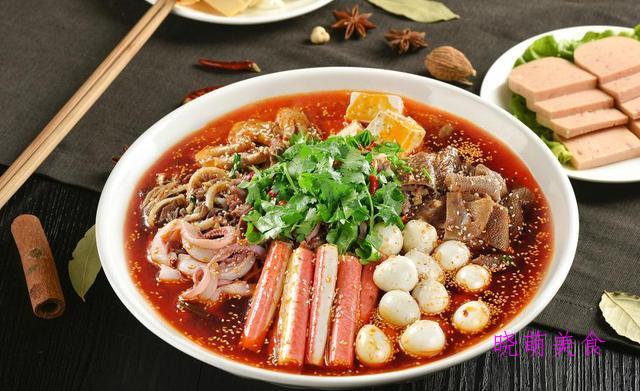 麻辣火锅兔、冒菜、麻辣鸡火锅的家常做法,美味,营养又下饭