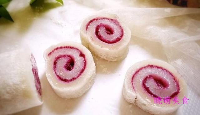 蔓越莓蒸蛋糕、萝卜丝团子、紫薯凉糕、香甜绿豆糕的简单做法