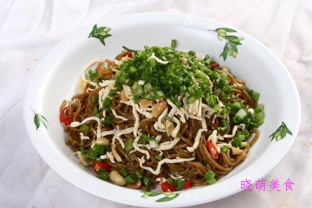 四川凉面、酱油炒面、冷面、葱油荞麦面的家常做法,营养美味