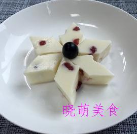 松糕、蓝莓酸奶糕、红枣糯米糕、流心绿豆糕的做法