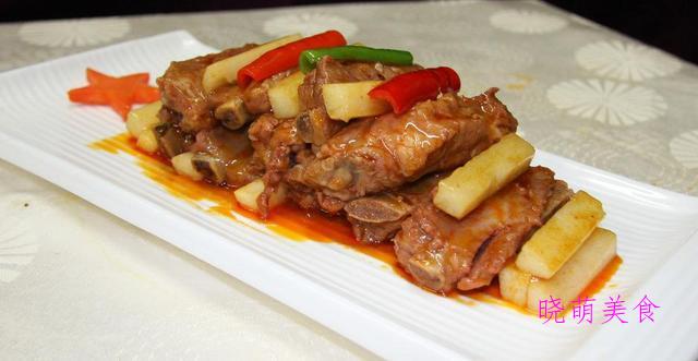 红烧仔鸡、茄子烧肉、山药烧排骨、回锅鸡翅的做法