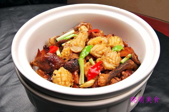 酱炒肉丝、鲍鱼鸡翅煲、香辣孜然羊肉、麻油鸭的家常做法
