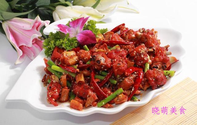 香辣鸡、香辣肚丝、香辣鸡腿、香辣肥肠的家常做法