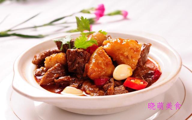 辣子肉、椒盐五花肉、香炸排骨、私房红烧牛腩的家常做法