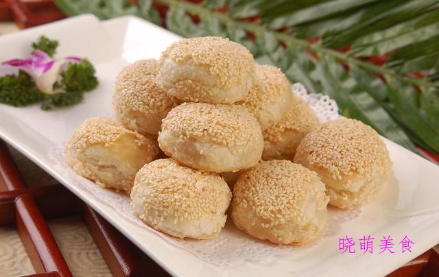 土家酱香饼、发面小糖饼、肉烧饼的家常做法