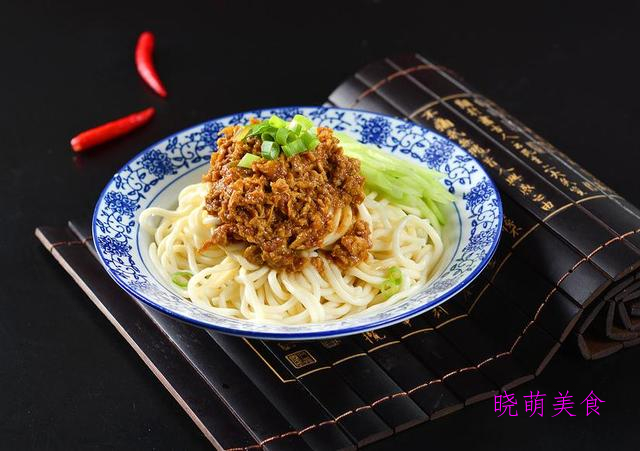 西葫芦肉酱面、香辣凉面、荞麦凉面、凉拌面的家常做法