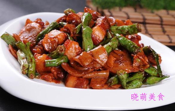 豆角烧肉、剁椒带鱼、烧羊排、香菇烧排骨的家常做法