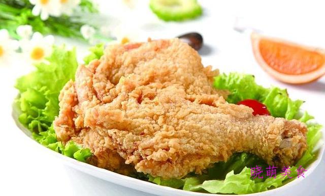 黑椒炸鸡腿、嫩炸牛肉、酥炸黄金虾、炸鸡肉丸子、香酥小鱼的做法