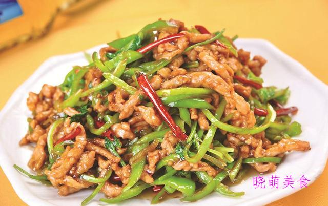 葱香黄花鱼、香煎藕饼、香辣肉丝、梅菜干烧肉的家常做法