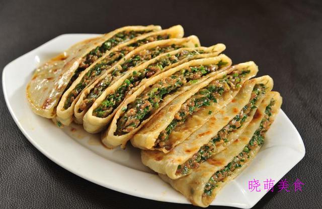 素馅饼、烫面肉饼、野菜馅饼、椒盐火烧、牛肉叉烧包的家常做法