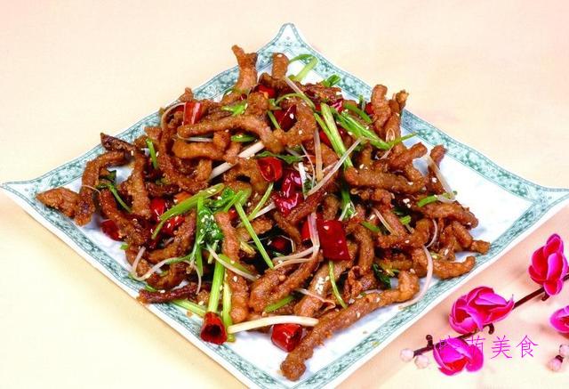 香辣肉丝、烧排骨、香辣鳗鱼、烧肥肠的家常做法