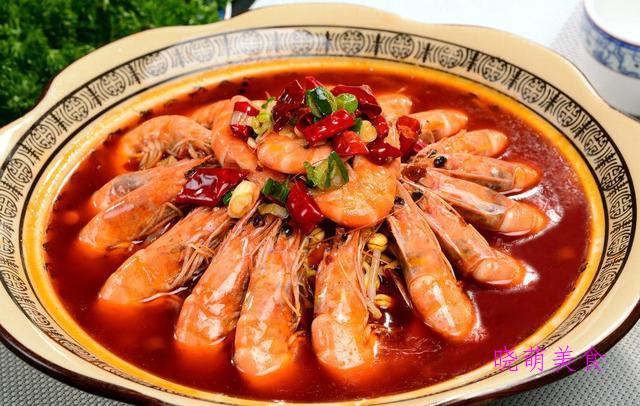 板栗烧牛筋、孜然烤肉、香辣盆盆虾、香辣牛排的美味做法