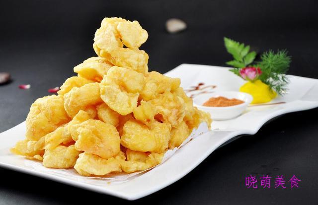 软炸虾仁、干炸小鱼、炸土豆丸子、炸排骨、炸豆腐丸子的家常做法