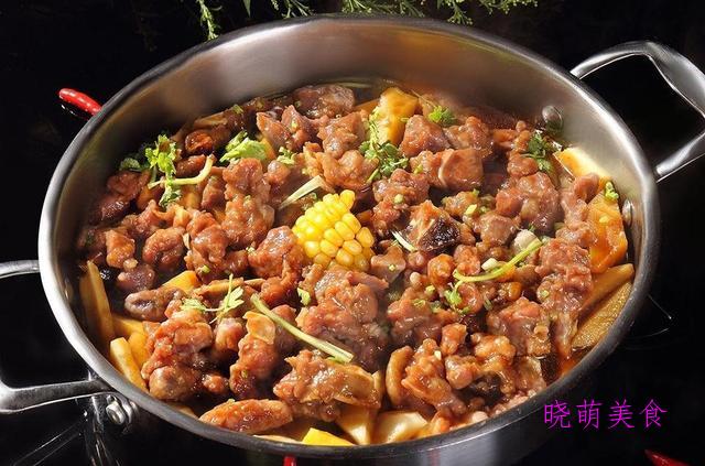 酱爆腰花、陈皮兔丁、酱汁焖锅的家常做法