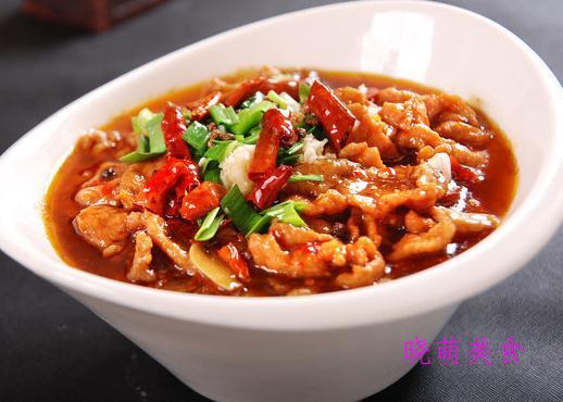香辣茄条、双椒炒牛肉、豉烧黄鱼、香辣水煮牛肉的家常做法