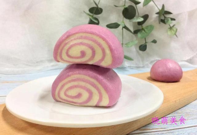 紫薯馒头、红糖小锅盔、羊肉小笼包、南瓜包子的家常做法