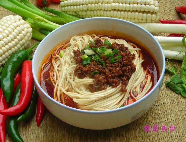 芝麻酱拌面、香辣荞麦面、肥牛面、肉酱面的家常做法