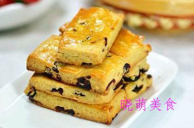 巧克力饼干、蔓越莓奶酥、黄瓜凉糕、黑米糕、南瓜糕的家常做法
