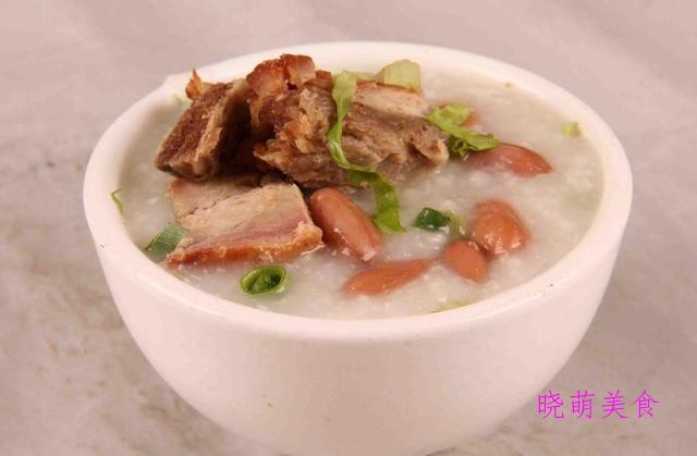 鲜虾海鲜粥、猪骨薏米粥、山药猪肝粥、鳕鱼粥的家常做法