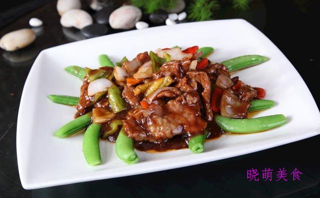 辣烧羊排、香辣牛肉、尖椒溜肉段、黑椒牛肉的家常做法