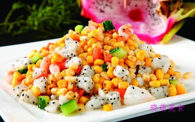 豌豆玉米虾仁、辣炒藕丁、麻辣排骨、香酥炸鸡翅的家常做法