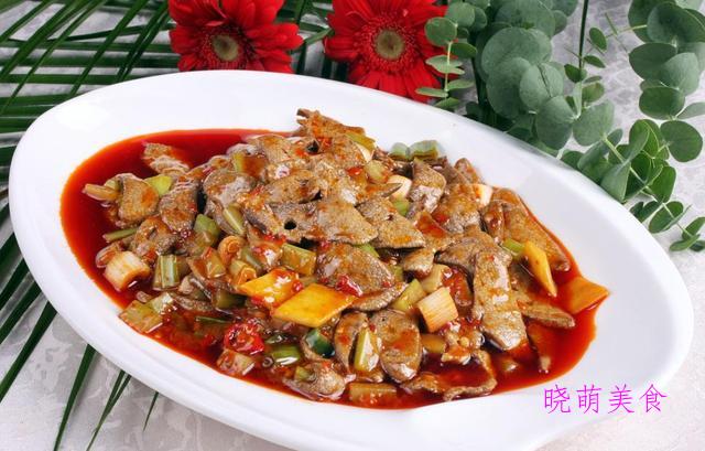 酥炸虾、奇味鸡煲、牛肉茄子煲、牛肉丸子、尖椒炒猪肝的家常做法