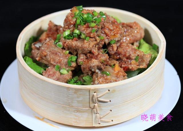 蒜蓉蒸生蚝、辣蒸排骨、嫩香排骨、小米蒸牛肉、清蒸虾的家常做法
