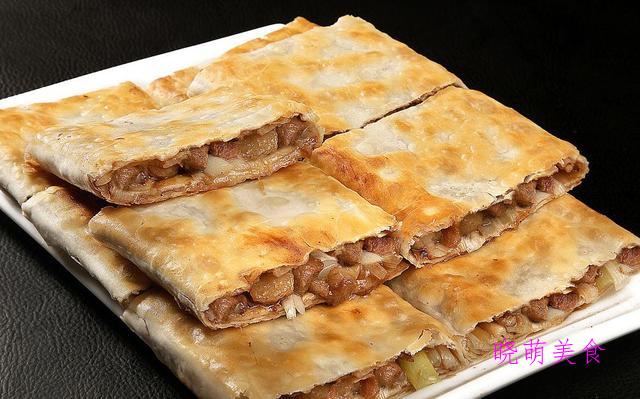 香蕉松饼、糯米饼、葱油肉饼、韭菜盒子、豆沙糯米饼的家常做法