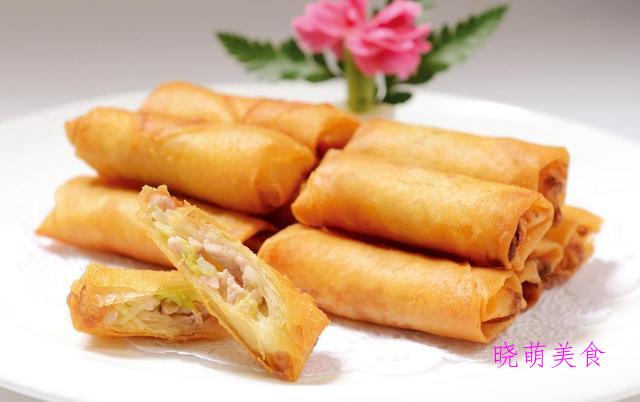 南瓜小米糕、红糖软饼、豆腐包、春卷的家常做法