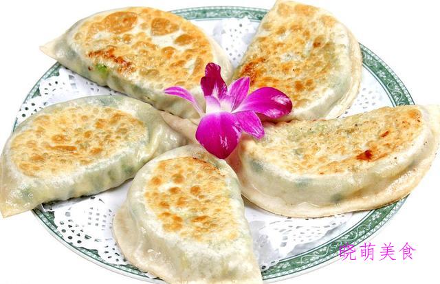 千层糖酥饼、韭菜盒、酱汁肉包、玉米松饼的家常做法