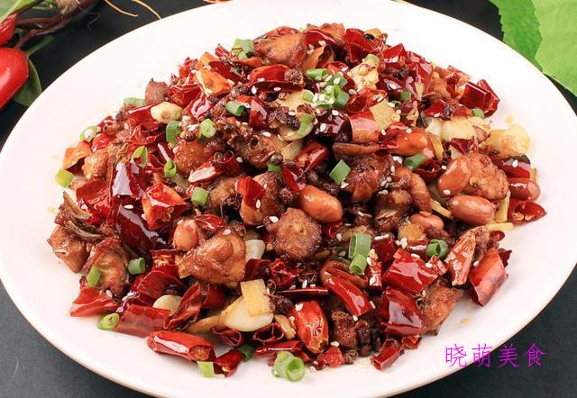 芋头烧排骨、红烧兔、香辣鱼片、家常鸡丁的美味做法
