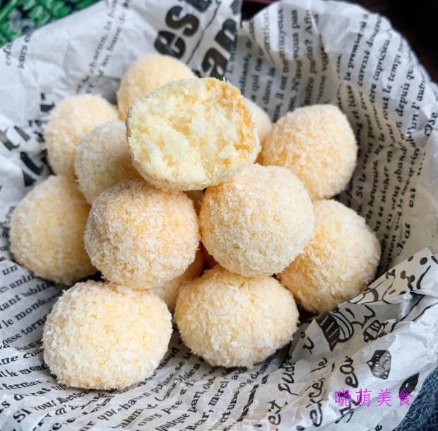 椰丝球、小笼灌汤包、小泡芙、开口酥的家常做法