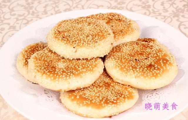 葱油饼、牛肉蒸饺、红枣鸡蛋发糕、芝麻酱烧饼、土豆丝饼的做法