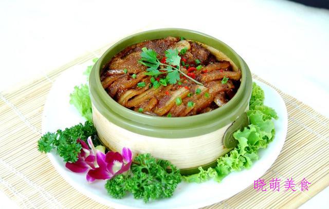 蒸肉丸、干菜蒸肉、客家咸肉、青椒回锅肉的家常做法