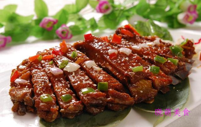 酱羊排、广东鸡煲、葱爆虾仁、豆豉鱼片的家常做法