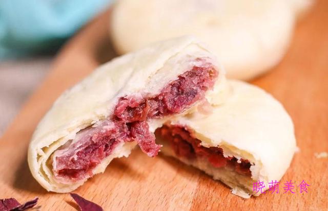 云南鲜花饼、酸奶蛋糕、火腿寿司、豆沙糯米糕、杂粮馒头的做法