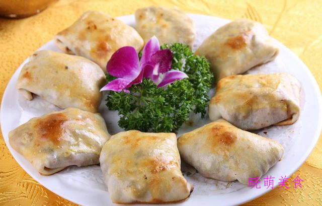 烤包子、羊肉锅贴、肉盒、生煎小包子的家常做法