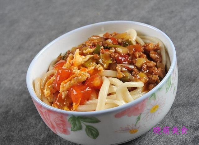 山东打卤面、茄子肉酱拌面、陕西裤带面的家常做法
