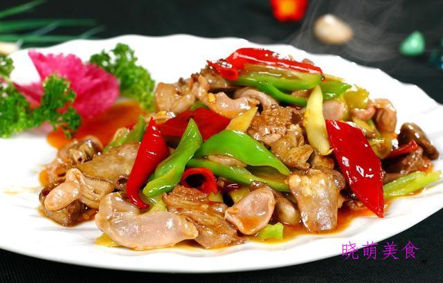 爆炒鸡杂、辣卤猪心、辣子鸡翅、凉拌猪耳的家常做法