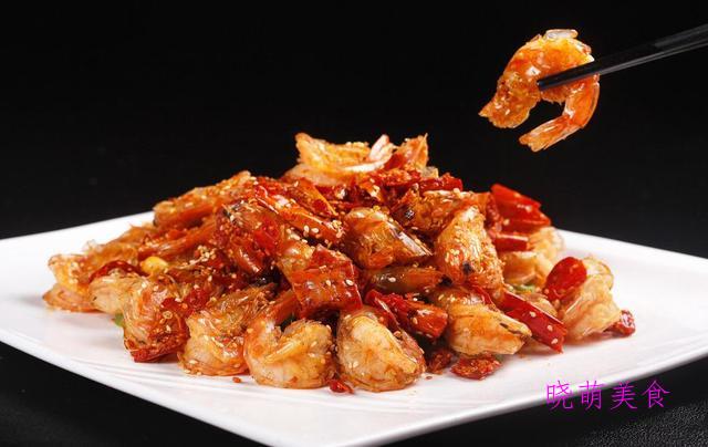 香酥虾、高升鸡翅、蜜瓜鸡球、豆干烧肉的家常做法