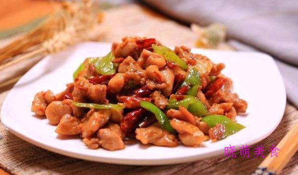 葱爆猪肝、干切牛腱、生炒鸡丁、酥炸鸡柳、油炸花生米的家常做法
