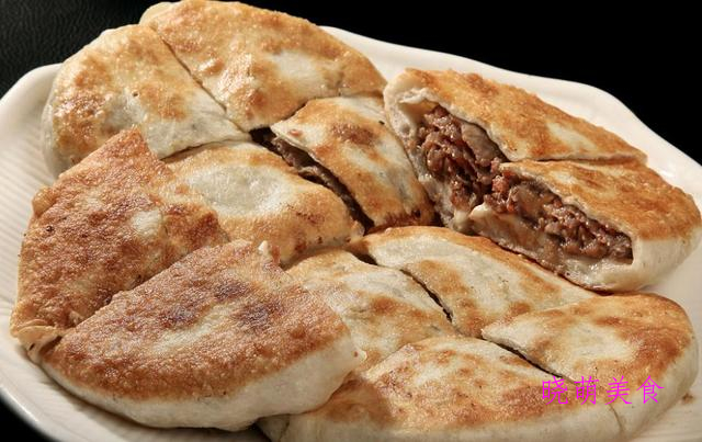 三鲜肉饼、开花馒头、香葱花卷、全麦馒头的家常做法
