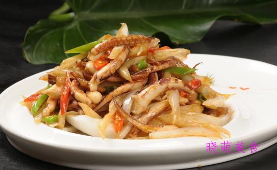 辣炒鸡丁、红烧海参、辣炒鱿鱼、重庆酸菜鸡的家常做法