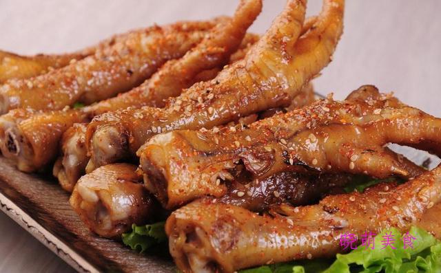 麻辣卤鸡爪、胡萝卜烧牛肉、鸡腿煲、爆炒磷虾的家常做法
