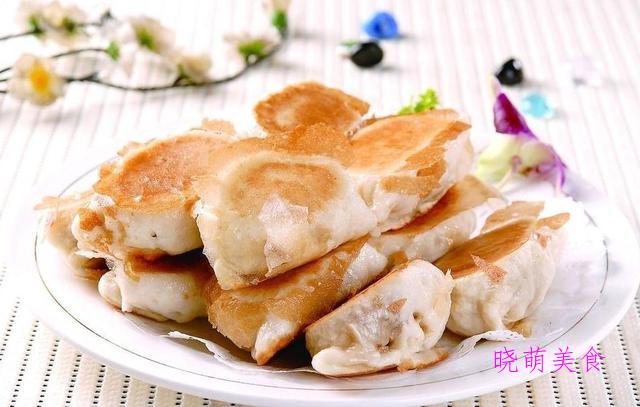 香煎土豆饼、空心小油条、猪肉水煎包、小糖饼的家常做法