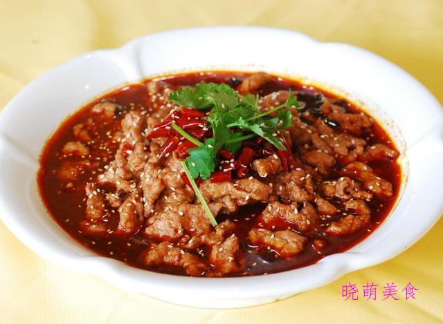 川味牛肉、剁椒酸菜鱼、酸辣肥牛、腐乳带鱼、腊肉炒干菜的做法