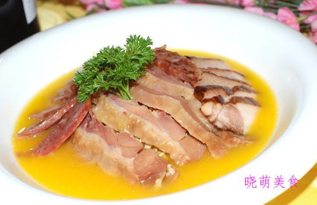 清炖四喜丸子、老干妈蒸排骨、蒸腊肉的家常做法